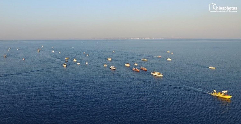 Η εντυπωσιακή δια θαλάσσης μεταφορά της εικόνας του Αγίου Αιμιλιανού στη Χίο (Video) - e-Nautilia.gr | Το Ελληνικό Portal για την Ναυτιλία. Τελευταία νέα, άρθρα, Οπτικοακουστικό Υλικό