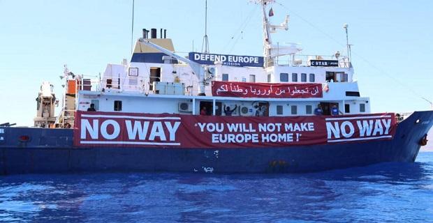 Εγκαταλελειμμένο από την ακροδεξιά οργάνωση που το ναύλωνε το πλοίο C Star και το πλήρωμα του - e-Nautilia.gr | Το Ελληνικό Portal για την Ναυτιλία. Τελευταία νέα, άρθρα, Οπτικοακουστικό Υλικό