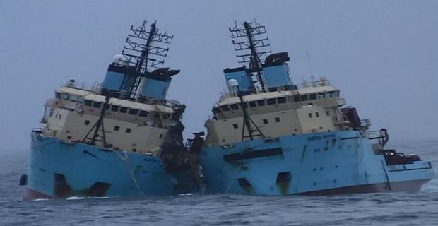 Σε συνδυασμό παραγόντων οφείλεται η περσινή βύθιση δυο πλοίων της Maersk - e-Nautilia.gr | Το Ελληνικό Portal για την Ναυτιλία. Τελευταία νέα, άρθρα, Οπτικοακουστικό Υλικό