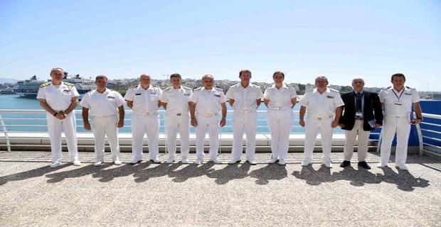 Επίσκεψη του Διοικητού της Ναυτικής Δύναμης του ΝΑΤΟ - e-Nautilia.gr   Το Ελληνικό Portal για την Ναυτιλία. Τελευταία νέα, άρθρα, Οπτικοακουστικό Υλικό