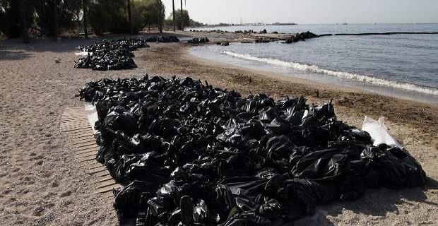 Νεότερη ενημέρωση για την πορεία της αντιρρύπανσης του Σαρωνικού - e-Nautilia.gr   Το Ελληνικό Portal για την Ναυτιλία. Τελευταία νέα, άρθρα, Οπτικοακουστικό Υλικό