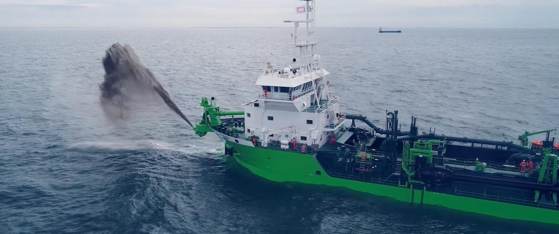 TSHD Minerva: Τα δοκιμαστικά της πρώτης βυθοκόρου στον κόσμο που κινείται με φυσικό αέριο (βίντεο) - e-Nautilia.gr | Το Ελληνικό Portal για την Ναυτιλία. Τελευταία νέα, άρθρα, Οπτικοακουστικό Υλικό