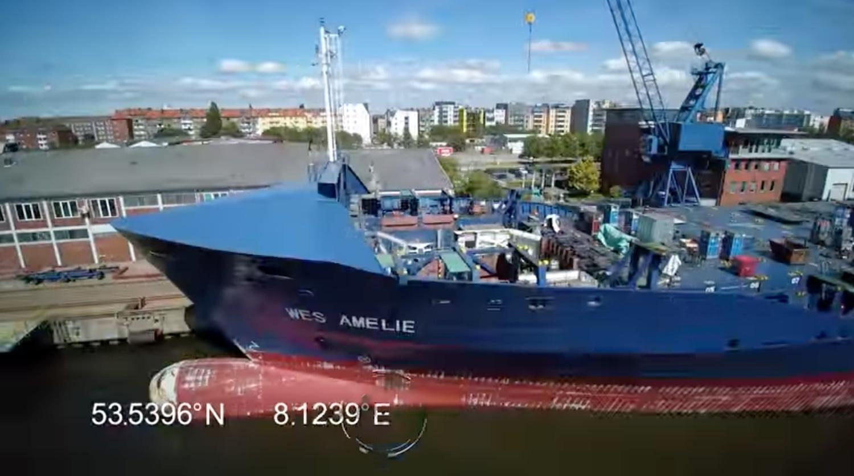 Βίντεο: H πρώτη μετατροπή containership με μηχανή διπλού καυσίμου - e-Nautilia.gr | Το Ελληνικό Portal για την Ναυτιλία. Τελευταία νέα, άρθρα, Οπτικοακουστικό Υλικό