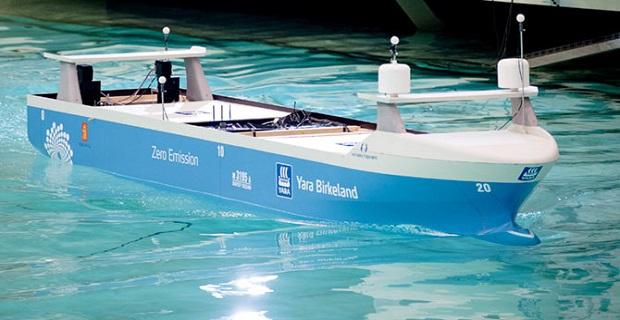 Πετυχημένη η δοκιμή μοντέλου του πρώτου πλήρως αυτόνομου πλοίου Yara Birkeland (video) - e-Nautilia.gr | Το Ελληνικό Portal για την Ναυτιλία. Τελευταία νέα, άρθρα, Οπτικοακουστικό Υλικό