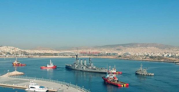 Απέπλευσε για τη Θεσσαλονίκη το «Αβέρωφ» [βίντεο] - e-Nautilia.gr | Το Ελληνικό Portal για την Ναυτιλία. Τελευταία νέα, άρθρα, Οπτικοακουστικό Υλικό