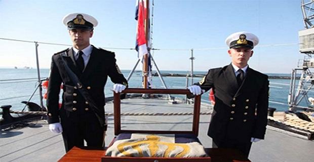 Παρασημοφόρηση της Πολεμικής Σημαίας του Θ/Κ «Γ. ΑΒΕΡΩΦ» - e-Nautilia.gr | Το Ελληνικό Portal για την Ναυτιλία. Τελευταία νέα, άρθρα, Οπτικοακουστικό Υλικό