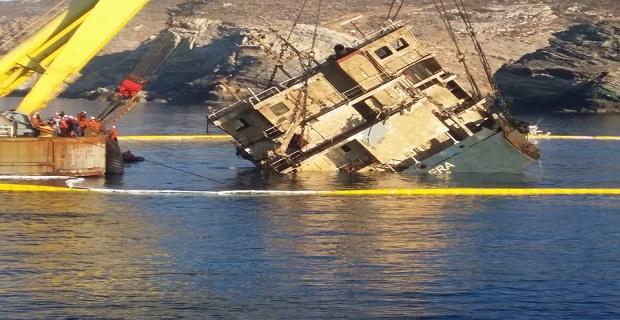 Ολοκληρώθηκε η ανέλκυση του φορτηγού πλοίου CABRERA - e-Nautilia.gr | Το Ελληνικό Portal για την Ναυτιλία. Τελευταία νέα, άρθρα, Οπτικοακουστικό Υλικό