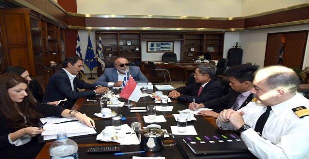 Με τον πρέσβη της Σιγκαπούρης συναντήθηκε o Π. Κουρουμπλής - e-Nautilia.gr | Το Ελληνικό Portal για την Ναυτιλία. Τελευταία νέα, άρθρα, Οπτικοακουστικό Υλικό