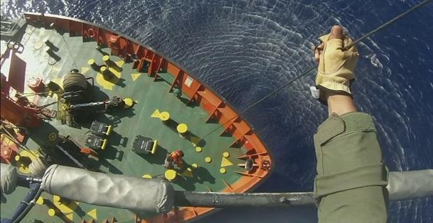 Αεροδιακομιδή ναυτικού φορτηγού πλοίου στο Ηράκλειο - e-Nautilia.gr | Το Ελληνικό Portal για την Ναυτιλία. Τελευταία νέα, άρθρα, Οπτικοακουστικό Υλικό