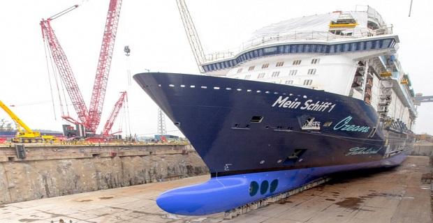 ΒΙΝΤΕΟ: Καθελκύστηκε το Mein Schiff 1 - e-Nautilia.gr | Το Ελληνικό Portal για την Ναυτιλία. Τελευταία νέα, άρθρα, Οπτικοακουστικό Υλικό