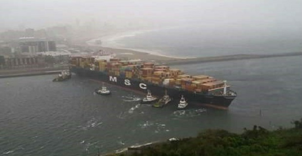 Containership της MSC έκλεισε το Ντέρμπαν – ένας νεκρός από κοντέινερ (video) - e-Nautilia.gr | Το Ελληνικό Portal για την Ναυτιλία. Τελευταία νέα, άρθρα, Οπτικοακουστικό Υλικό