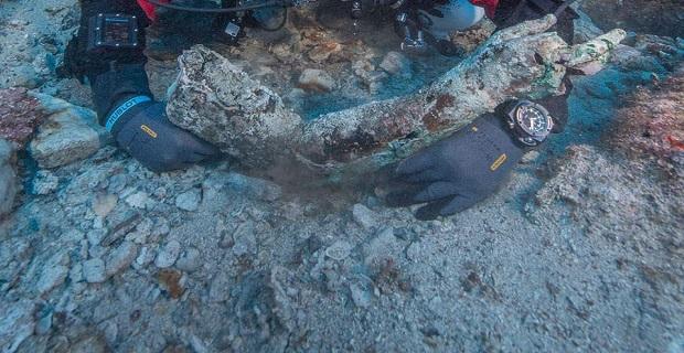 Eντυπωσιακά ευρήματα από την υποβρύχια ανασκαφή στο Ναυάγιο των Αντικυθήρων[βίντεο] - e-Nautilia.gr | Το Ελληνικό Portal για την Ναυτιλία. Τελευταία νέα, άρθρα, Οπτικοακουστικό Υλικό