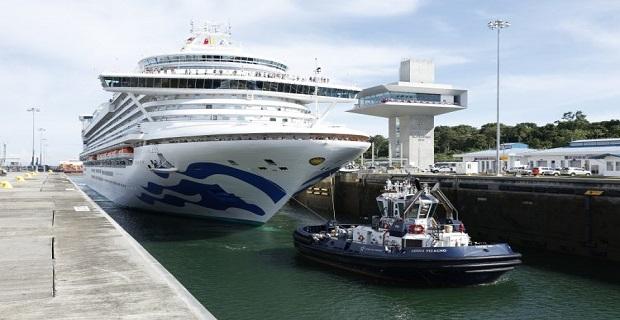Το πρώτο κρουαζιερόπλοιο της σαιζόν υποδέχθηκε η Διώρυγα του Παναμά - e-Nautilia.gr | Το Ελληνικό Portal για την Ναυτιλία. Τελευταία νέα, άρθρα, Οπτικοακουστικό Υλικό
