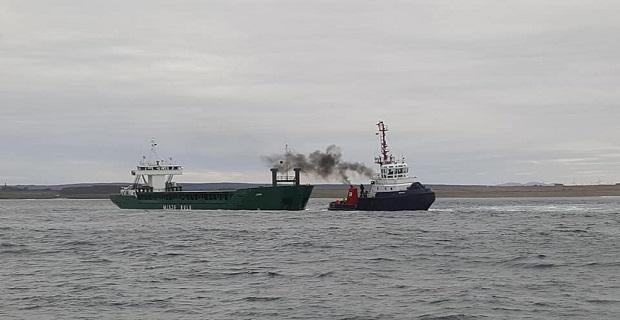 Διάσωση φορτηγού πλοίου με μηχανική βλάβη στην Σκωτία (photos) - e-Nautilia.gr | Το Ελληνικό Portal για την Ναυτιλία. Τελευταία νέα, άρθρα, Οπτικοακουστικό Υλικό