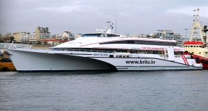 Η Golden Star Ferries έφερε το πρώτο trimaran ταχύπλοο στην Ελλάδα