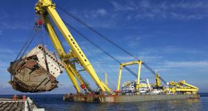 Δείτε την απομάκρυνση του ναυαγίου Cabrera στην Άνδρο (video)