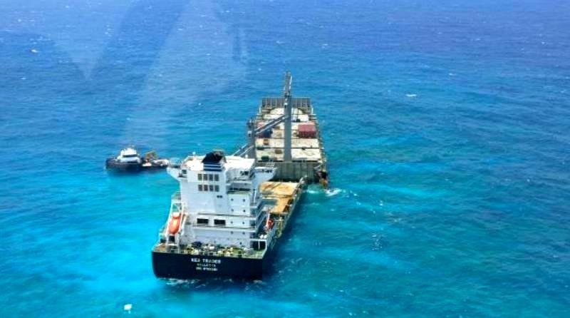 Πετρελαιοκηλίδες κατεγράφησαν γύρω από το προσαραγμένο ελληνικό πλοίο Kea Trader (photos) - e-Nautilia.gr | Το Ελληνικό Portal για την Ναυτιλία. Τελευταία νέα, άρθρα, Οπτικοακουστικό Υλικό