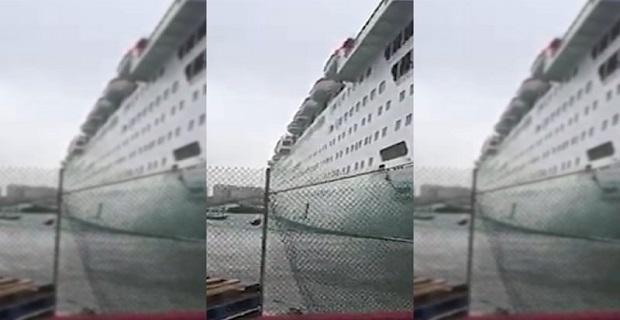 Έσπασαν οι κάβοι κρουαζιερόπλοιου στις Μπαχάμες (βίντεο) - e-Nautilia.gr | Το Ελληνικό Portal για την Ναυτιλία. Τελευταία νέα, άρθρα, Οπτικοακουστικό Υλικό