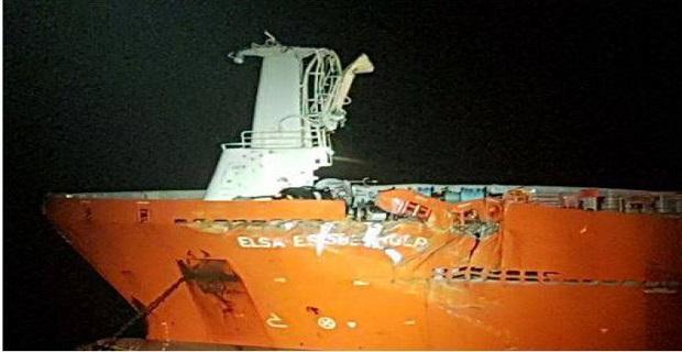 Σύγκρουση τάνκερ με πλατφόρμα πετρελαίου στην Βόρεια Θάλασσα - e-Nautilia.gr   Το Ελληνικό Portal για την Ναυτιλία. Τελευταία νέα, άρθρα, Οπτικοακουστικό Υλικό