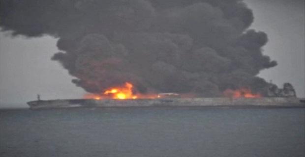 Πυρκαγιά σε πετρελαιοφόρο στην Κίνα – ένας επιβεβαιωμένος νεκρός (video) - e-Nautilia.gr | Το Ελληνικό Portal για την Ναυτιλία. Τελευταία νέα, άρθρα, Οπτικοακουστικό Υλικό