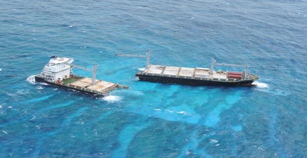 Ετοιμάζεται αφαίρεση του κύτους του προσαραγμένου ελληνικού πλοίου Kea Trader - e-Nautilia.gr | Το Ελληνικό Portal για την Ναυτιλία. Τελευταία νέα, άρθρα, Οπτικοακουστικό Υλικό