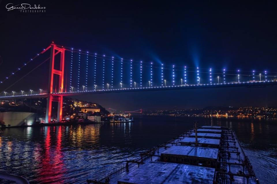 Έξω από την Κωνσταντινούπολη στα στενά του Βόσπορου! - e-Nautilia.gr | Το Ελληνικό Portal για την Ναυτιλία. Τελευταία νέα, άρθρα, Οπτικοακουστικό Υλικό