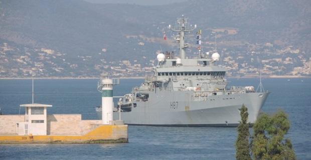 Στον Πειραιά το HMS Echo H87 που θα επισκεφθεί ο πρίγκιπας Κάρολος [βίντεο] - e-Nautilia.gr | Το Ελληνικό Portal για την Ναυτιλία. Τελευταία νέα, άρθρα, Οπτικοακουστικό Υλικό