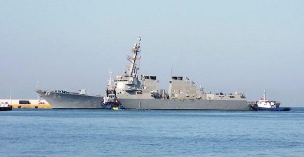 Το αντιτορπιλικό USS Bulkeley στο λιμάνι του Πειραιά [βίντεο] - e-Nautilia.gr | Το Ελληνικό Portal για την Ναυτιλία. Τελευταία νέα, άρθρα, Οπτικοακουστικό Υλικό