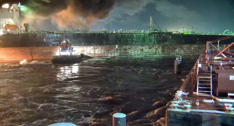 Βίντεο με την φωτιά στο δεξαμενόπλοιο Aframax River – βραβείο γενναιότητας του IMO στους δύο πλοηγούς! - e-Nautilia.gr | Το Ελληνικό Portal για την Ναυτιλία. Τελευταία νέα, άρθρα, Οπτικοακουστικό Υλικό