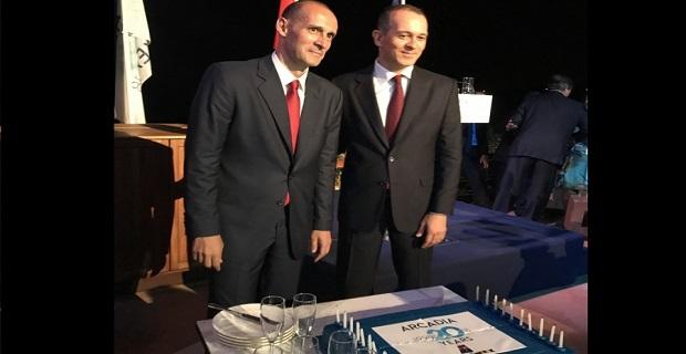 Oι Αγγελόπουλοι γιόρτασαν τα 20 χρόνια της «γαλανόλευκης» ARCADIA - e-Nautilia.gr | Το Ελληνικό Portal για την Ναυτιλία. Τελευταία νέα, άρθρα, Οπτικοακουστικό Υλικό