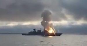 Συγκλονιστικό βίντεο: Έκρηξη σε Γερμανική φρεγάτα μετά από αποτυχημένη εκτόξευση πυραύλου!