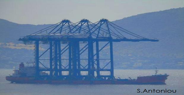 Στον Πειραιά 3 νέες γερανογέφυρες της COSCO [βίντεο] - e-Nautilia.gr | Το Ελληνικό Portal για την Ναυτιλία. Τελευταία νέα, άρθρα, Οπτικοακουστικό Υλικό