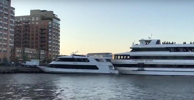 ΒΙΝΤΕΟ: Πλοίο που μετέφερε μαθητές προσέκρουσε σε γιότ που ήταν προσδεμένο στο λιμάνι - e-Nautilia.gr | Το Ελληνικό Portal για την Ναυτιλία. Τελευταία νέα, άρθρα, Οπτικοακουστικό Υλικό