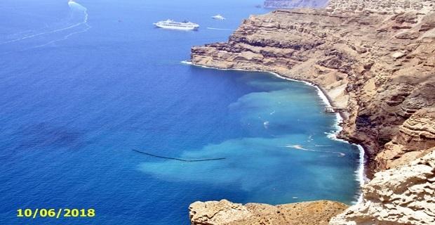 Βυθίστηκε το φράγμα της ντροπής στο ναυάγιο του Sea Diamond - e-Nautilia.gr | Το Ελληνικό Portal για την Ναυτιλία. Τελευταία νέα, άρθρα, Οπτικοακουστικό Υλικό