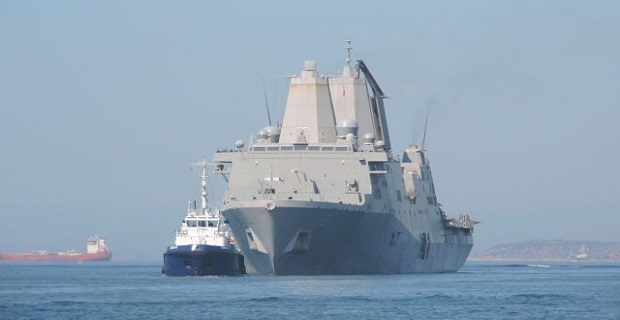 Στον Πειραιά το USS New York LPD-21 [βίντεο] - e-Nautilia.gr | Το Ελληνικό Portal για την Ναυτιλία. Τελευταία νέα, άρθρα, Οπτικοακουστικό Υλικό