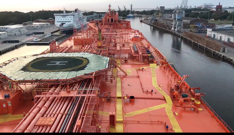 Timelapse Βίντεο από την άφιξη δεξαμενόπλοιου στο ναυπηγείο Remontowa στη Πολωνία - e-Nautilia.gr | Το Ελληνικό Portal για την Ναυτιλία. Τελευταία νέα, άρθρα, Οπτικοακουστικό Υλικό