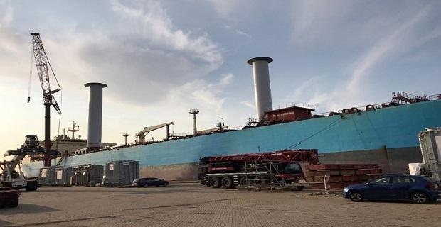 Ένα δεξαμενόπλοιο της Maersk εφοδιασμένο με πανιά! - e-Nautilia.gr   Το Ελληνικό Portal για την Ναυτιλία. Τελευταία νέα, άρθρα, Οπτικοακουστικό Υλικό