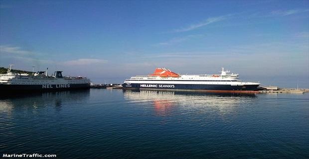 Βλάβη στον καταπέλτη του «Νήσος Χίος» - e-Nautilia.gr | Το Ελληνικό Portal για την Ναυτιλία. Τελευταία νέα, άρθρα, Οπτικοακουστικό Υλικό