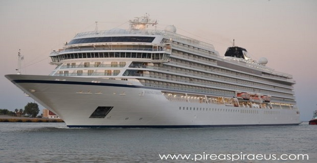 Viking Orion : Παρθενική άφιξη στο λιμάνι του Πειραιά [βίντεο] - e-Nautilia.gr | Το Ελληνικό Portal για την Ναυτιλία. Τελευταία νέα, άρθρα, Οπτικοακουστικό Υλικό