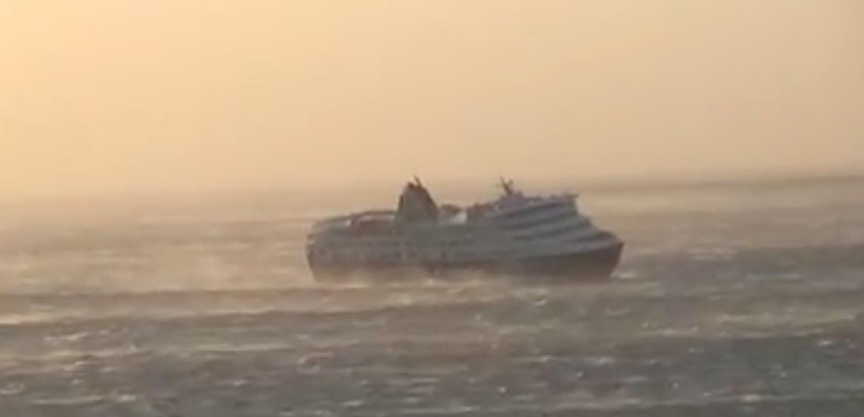 ΒΙΝΤΕΟ: Το Superferry μπαίνει στο λιμάνι της Τήνου με ανέμους 10 μποφόρ - e-Nautilia.gr | Το Ελληνικό Portal για την Ναυτιλία. Τελευταία νέα, άρθρα, Οπτικοακουστικό Υλικό