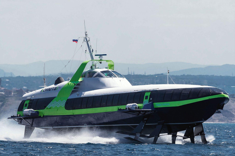 Εμπορική διάθεση στην Ελλάδα της νέας γενιάς υδροπτερύγων Kometa 120M (Video) - e-Nautilia.gr | Το Ελληνικό Portal για την Ναυτιλία. Τελευταία νέα, άρθρα, Οπτικοακουστικό Υλικό