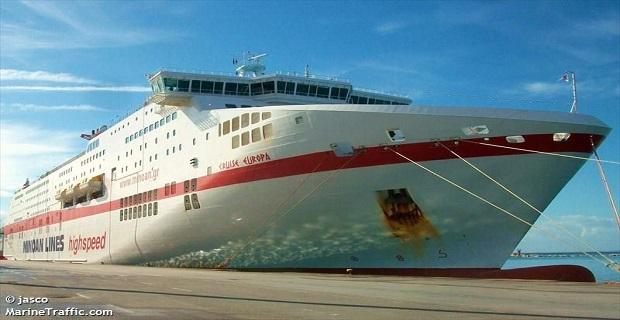 Ηγουμενίτσα: Ελαφρά πρόσκρουση του «Cruise Europa» στην προβλήτα - e-Nautilia.gr | Το Ελληνικό Portal για την Ναυτιλία. Τελευταία νέα, άρθρα, Οπτικοακουστικό Υλικό