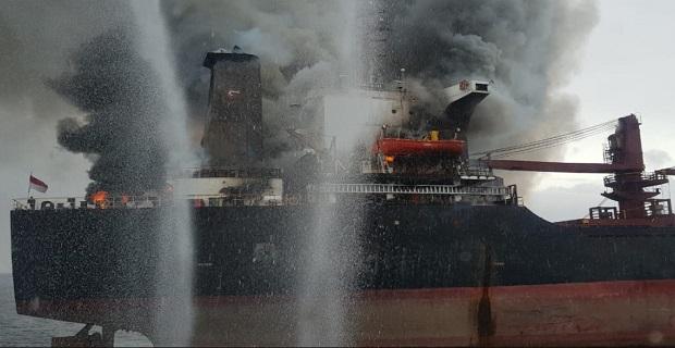 22 άνθρωποι εγκατέλειψαν το καιόμενο φορτηγό πλοίο Golden Ocean - e-Nautilia.gr | Το Ελληνικό Portal για την Ναυτιλία. Τελευταία νέα, άρθρα, Οπτικοακουστικό Υλικό