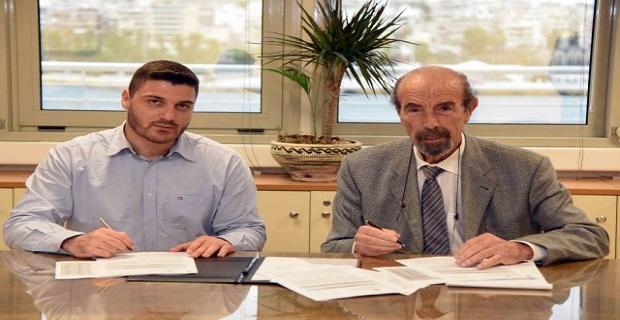 Υπογραφή σύμβασης Υπουργείου Ναυτιλίας με το Ίδρυμα Ευγενίδου - e-Nautilia.gr | Το Ελληνικό Portal για την Ναυτιλία. Τελευταία νέα, άρθρα, Οπτικοακουστικό Υλικό