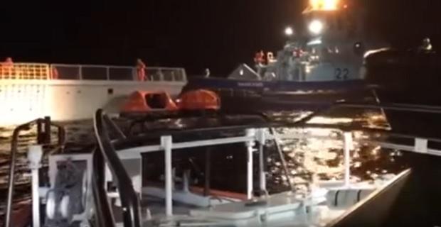 Σύγκρουση Νορβηγικής φρεγάτας με το Ελληνικό δεξαμενόπλοιο Sola TS [βίντεο] - e-Nautilia.gr | Το Ελληνικό Portal για την Ναυτιλία. Τελευταία νέα, άρθρα, Οπτικοακουστικό Υλικό