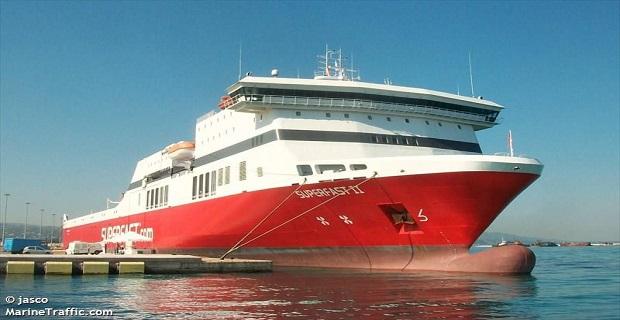 Το «Superfast ΙΙ» προσέκρουσε στο λιμάνι της Πάτρας - e-Nautilia.gr | Το Ελληνικό Portal για την Ναυτιλία. Τελευταία νέα, άρθρα, Οπτικοακουστικό Υλικό