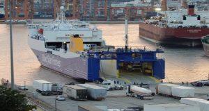Blue Carrier 1: Άρχισε εχθές τα δρομολόγια του το νέο RoRo της Blue Star Ferries [βίντεο]