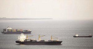 Πρόσκρουση φορτηγού πλοίου σε δεξαμενόπλοιο στο Ικόνιο Κερατσινίου