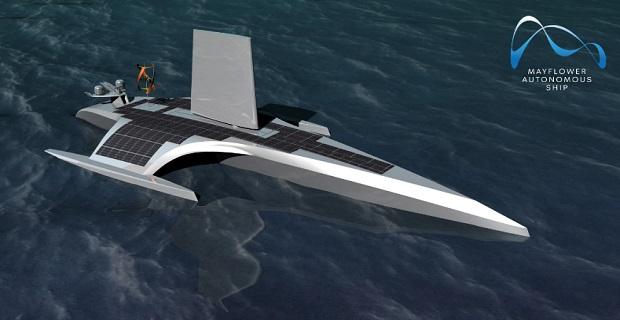 Το αυτόνομο ερευνητικό σκάφος «Mayflower» θα διασχίσει τον Ατλαντικό το 2020
