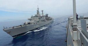 ΠΑΡΜΕΝΙΩΝΑΣ 2019: Το ναυτικό σκέλος προσάραξε στα αβαθή της Σαμοθράκης…